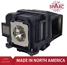 SpArc Lighting for Epson ELPLP88 / V13H010L88 Projector Lamp with Enclosure fits 2040 1040 2045 740HD 640 EX3240 EX7240 EX9200 EX5250 EX5240 VS240 VS345 VS340 97H 98H 99WH 955WH X27