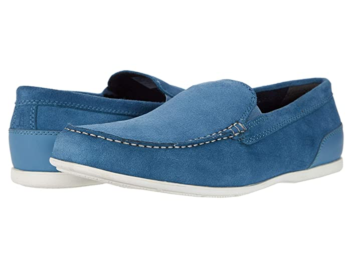 Rockport  Malcom Venetian (Blue Heaven Suede) Mens Shoes