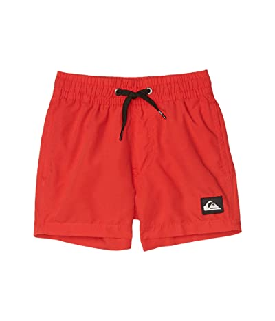 Quiksilver Kids Everyday Volley (Toddler/Little Kids) (High Risk Red) Boy