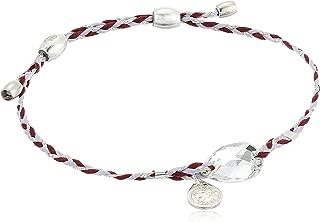 Alex and ANI Precious Threads, Sterling Silver Bangle Bracelet