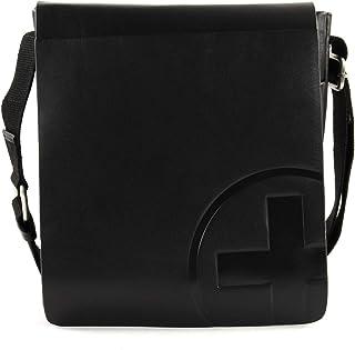 Strellson Jones Umhängetasche Leder 23 cm, Black, one size