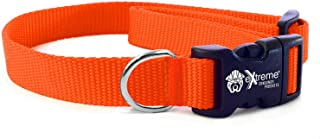 Extreme Heavy Duty Adjustable Collars and Replacement Electric Dog Fence Collar Straps for All Pets with Necks from 9
