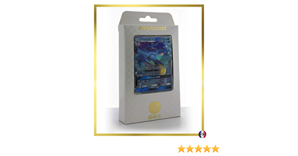 Hyporoi-GX 18//70 Kingdra-GX Box di 10 carte Pok/émon Francese #myboost X Soleil /& Lune 7.5 Majest/é des Dragons