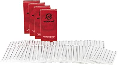 One Tattoo World 200pcs Assorted Tattoo Needles | 100 Round Liners, 100 Round Shaders, 25 Flat Magnums | RL, RS & M1