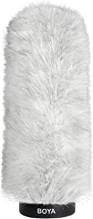 BOYA BY-P220 Furry Outdoor Interview Windshield Muff for Shotgun Capacitor Microphones (Inside Depth 8.8'') (BY-P220)