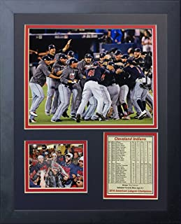 Legends Never Die 2016 MLB Cleveland Indians ALCS Champions Framed Photo Collage, 11