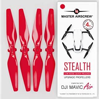 MAS Upgrade Propellers for DJI Mavic AIR in Red - x4 in Set