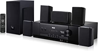 RCA (RT2781HB U) 1000-Watt Audio Receiver Home Theater System - Digital 5.1 Surround Sound & AM/FM Tuner, (Bluetooth and U...