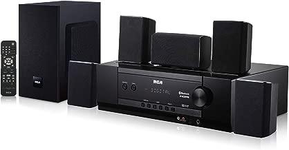 RCA (RT2781HB U) 1000-Watt Audio Receiver Home Theater System - Digital 5.1 Surround Sound & AM/FM Tuner, (Bluetooth and USB Playback)