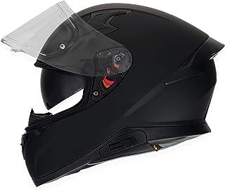 HAX- Casco Cerrado para Motocicleta, Serie Impulse, Modelo