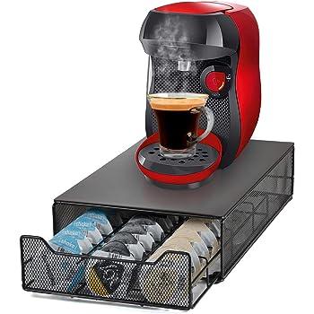 HiveNets Tassimo Café Cápsula Soporte y Cajón de Almacenamiento Metal Soporte Máquina para 60 Pcs: Amazon.es: Hogar