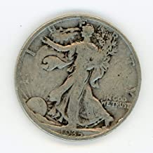 1935 S Walking Liberty Half Dollar VG-08