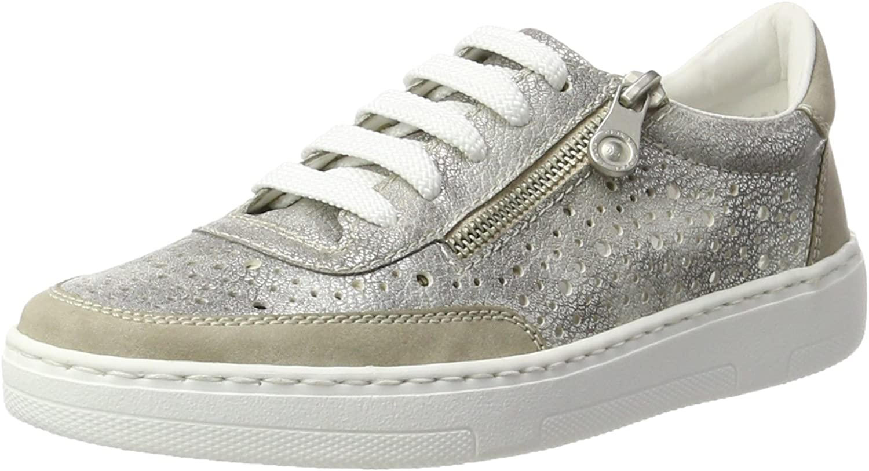 Rieker Women's 50417 Low-Top Sneakers