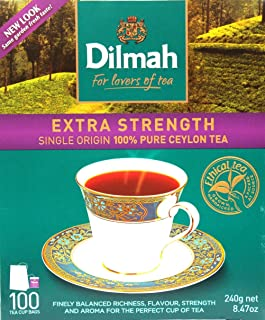 dilmah extra strength tea