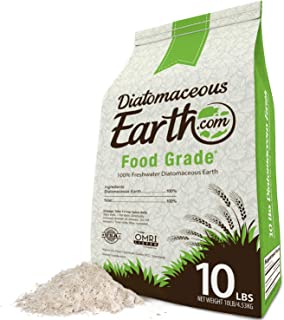DiatomaceousEarth DE10, 100% Organic Food Grade Diamateous Earth Powder – Safe For..