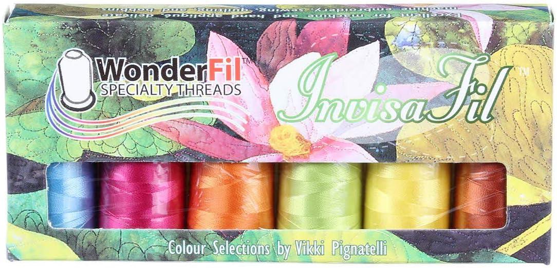 WonderFil San Diego Mall Factory outlet InvisaFil Thread B007 Set