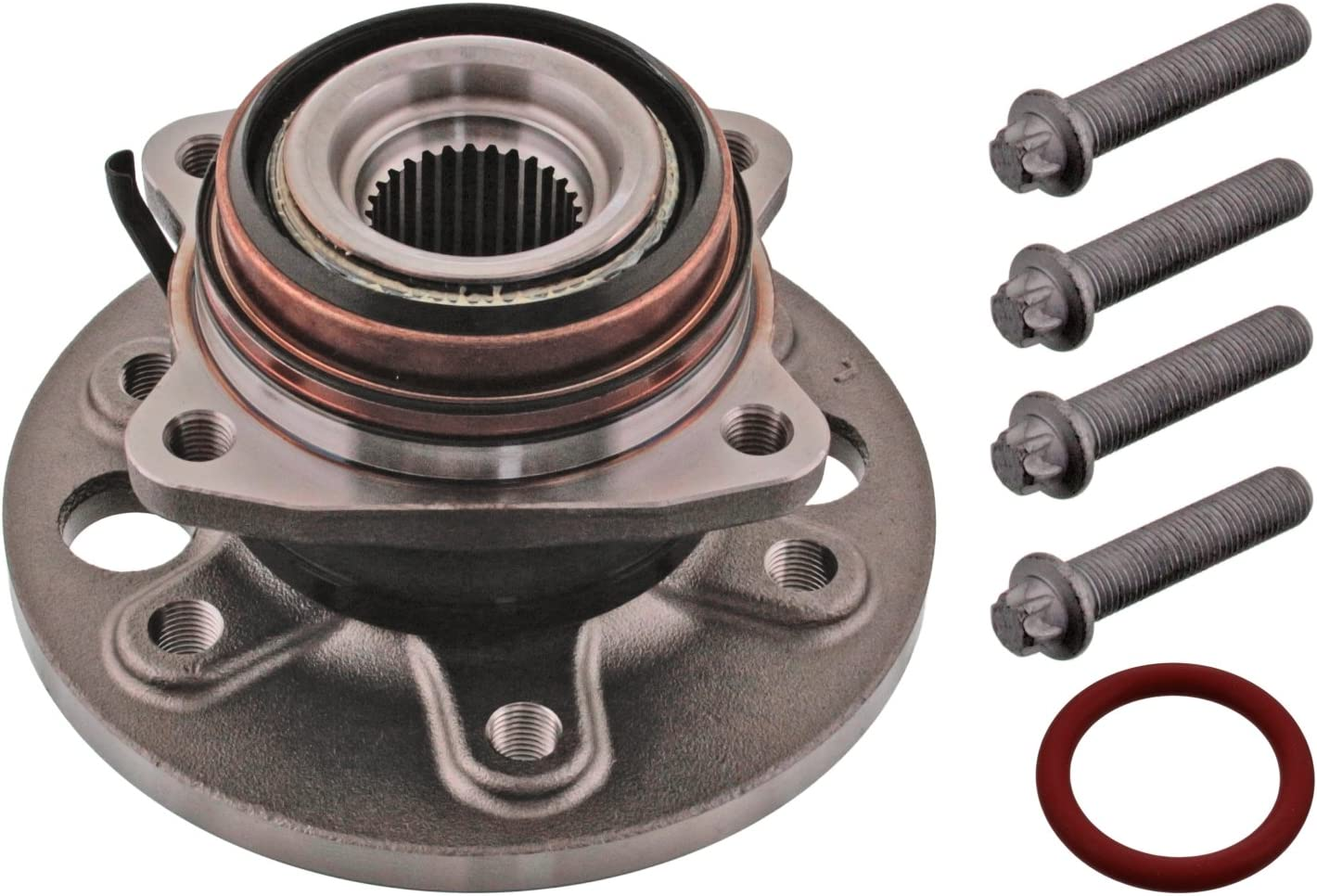 febi bilstein 44689 Wheel Bearing wheel fastening Translated with hub Kit Recommended