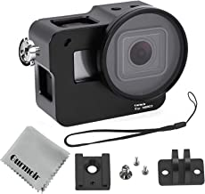 Gurmoir Case Aluminum Alloy Frame Housing for Gopro Hero 7 Black/Hero(2018) Action Camera, Protective Metal Side Open Shell with 52mm UV Filter and Back Door