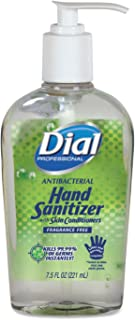 DIA01585 - Antibacterial Hand Sanitizer With Moisturizers, 7.5 Oz, Fragrance-free