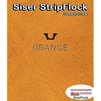 1 Yard Siser StripFlock Iron On Heat Transfer Vinyl 15 Inch by 36 Inch