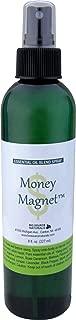 Money Magnet Essential Oil Blend Aromatherapy Spray with Gem Elixirs & Flower Essences -Reiki Charged Plus Quartz Crystal 8 Fl Oz / 227 Ml