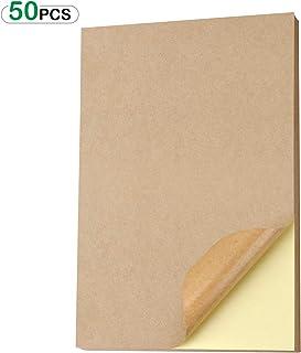 105 x 70 mm autoadesive stampabili 3426 4426 LA162 105 x 70 bianco 25 fogli A4 da 2 x 4 200 adesivi Etichette universali