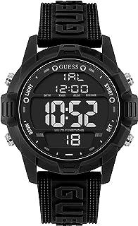 Men's Charge U1299G1 Black Silicone Quartz Fashion Watch