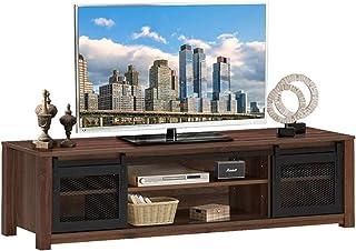 Lwieui Mesas para TV El Centro de Entretenimiento del gabinete TV Tiene Capacidad para el gabinete de TV de 65 Pulgadas co...