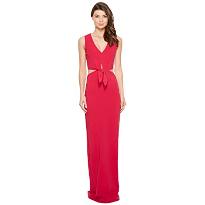 Nicole Miller Grayson Structured Heavy Jersey Gown (Fuchsia) Women