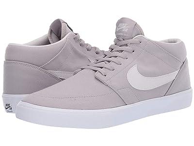 Nike SB Portmore II Solar Canvas (Atmosphere Grey/Vast Grey/White) Men