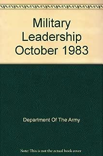 Fm 22-100 Military Leadership October 1983