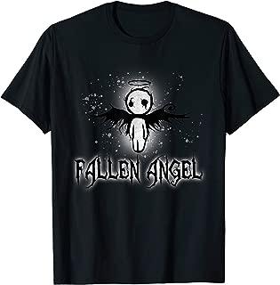Cute Dark Gothic Fallen Angel Creepy T-Shirt