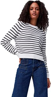 French Connection womens LILLY MOZART STRIPE JUMPER Sweater