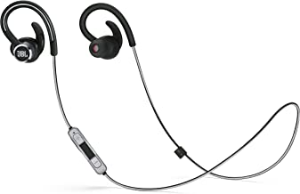 JBL Lifestyle Reflect Contour 2 Sweatproof Wireless Sport in-Ear Headphones - Black (Renewed)