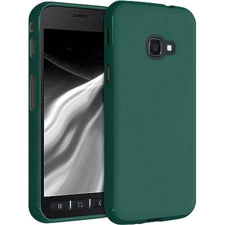 kwmobile Carcasa para Samsung Galaxy Xcover 4 / 4S - Funda para móvil en TPU Silicona - Protector Trasero en Verde Cian