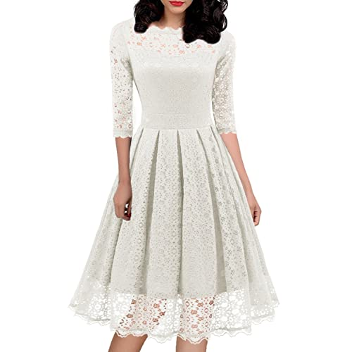 White Church Dresses