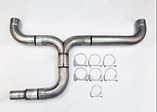 Diesel Dual 5.00 Diameter Truck Stack Exhaust Kit Stainless WDPDK500-500-SS Wesdon Stack Kit