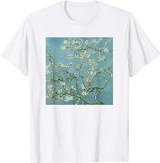 Vincent Van Gogh Art Almond Blossom White T Shirt Women Men