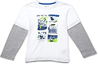 Adams Kids Round Neck T-Shirt For Boys
