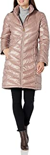 Calvin Klein Women's Chevron Quilted Packable Down Jacket (Standard and Plus)