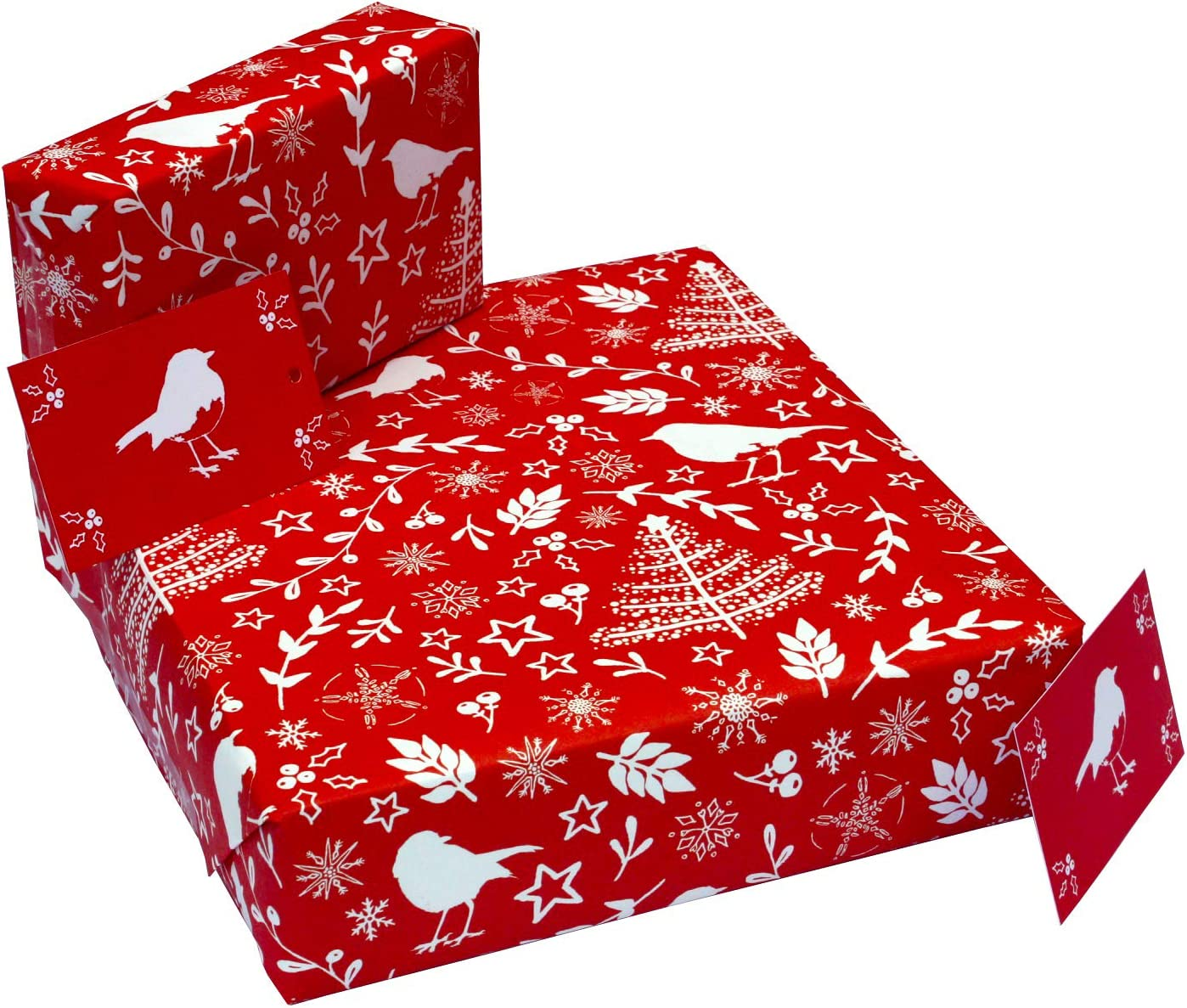 Christmas Blue Winter Wonderland Xmas Wrapping Paper Gift Wrap 100/% Recycled