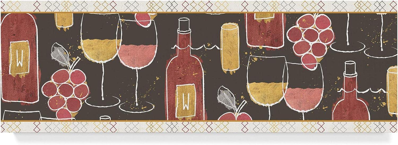 Trademark Fine Art Flavor Notes XII by Pela Studio, 8x24 Fine Art, Multicolor