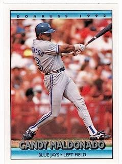 Candy Maldonado (Baseball Card) 1992 Donruss # 664 Mint