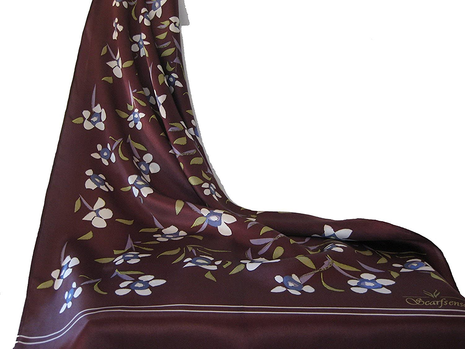 100% Silk Scarf In A Shade of Brown That's Preferred Over The Rest