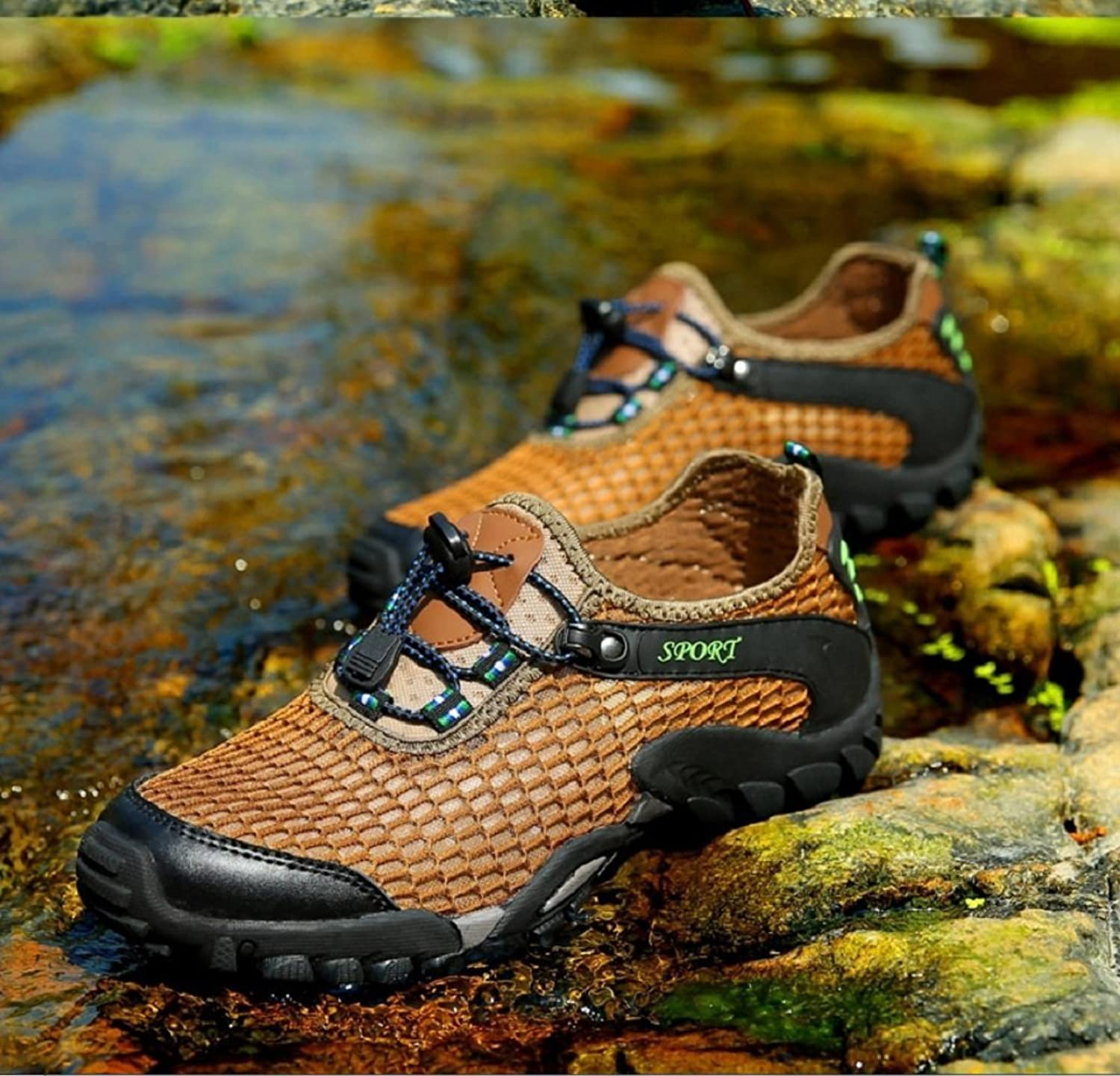 93c75d05a Mens Trainers Slip On Lightweight Running shoes Outdoor Outdoor Outdoor  Mesh Breathable Sneakers Casual Walking Sports Running shoes Fashion Summer  ...