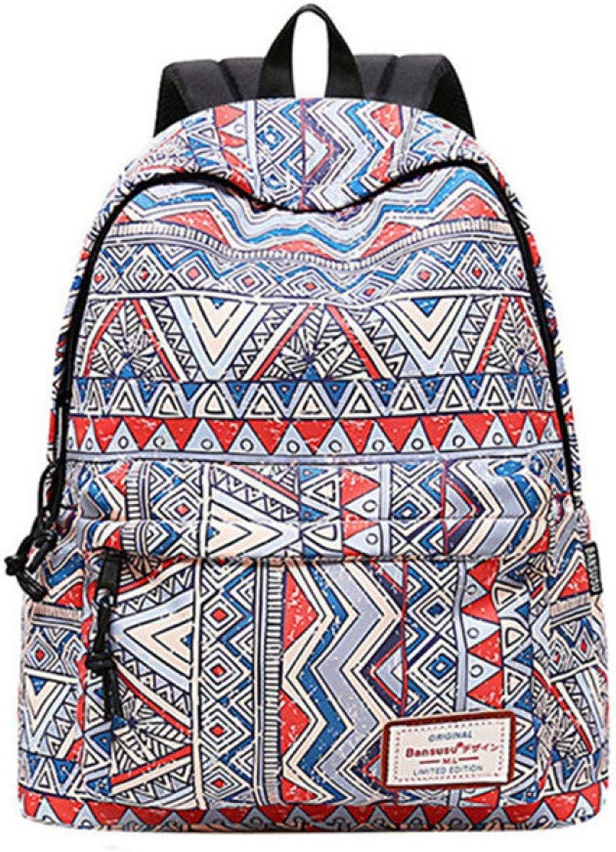 BKPEER Frauen Freizeit Ruckscke Für Teenager Mdchen Reise Rucksack Mode Schultaschen Für Mdchen Druck Rucksack Frauen