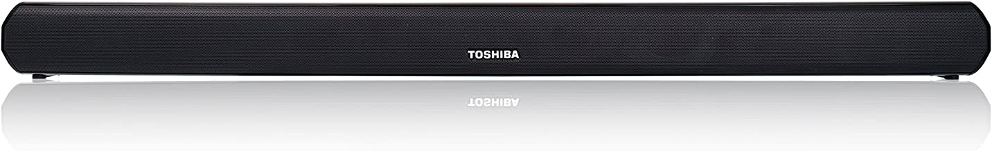 Toshiba 2.0 Channel Bluetooth Soundbar TV Speaker: Sound Bar with Optical, AUX, USB Inputs & Remote Control