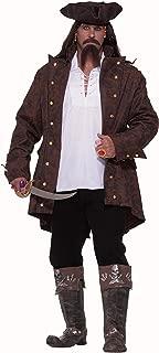 Forum Big-Tall Big Fun Pirate Captain Costume