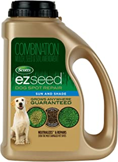 Scotts EZ Seed Dog Spot Repair Sun and Shade - 2 Lb., Mulch, Seed and Soil Amendment with Protectant and Tackifier, Repair...