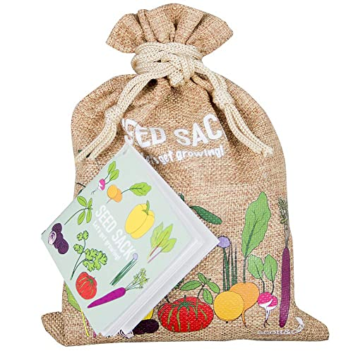 NEW Scott & Co Seed Sack - The Seed Sack Contains 30 Different Varieties Of Seeds To Grow. Making it An Ideal Gift For Gardeners.